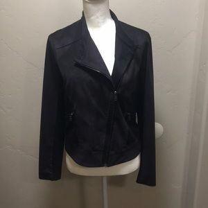 Jackets & Blazers - Elie Tahari, Black, zip up jacked